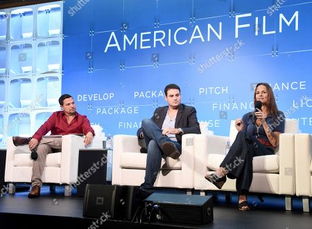 Richard Botto, Founder & CEO, Stage 32, Jason M. Berman, President, Development & Production, Mandalay Pictures, Heather Rae, Principal/Producer, Iron Circle Pictures