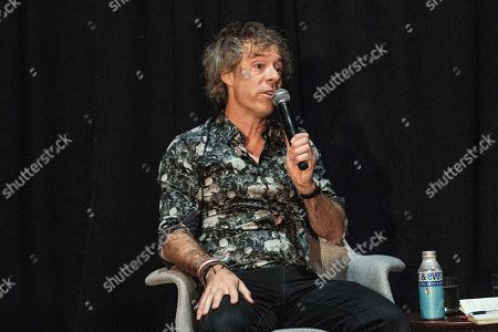 Stock Photo of Michael Acton Smith seen on day three of Summit LA19 in Downtown Los Angeles, in Los Angeles
