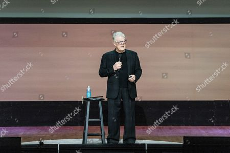 Stock Image of Sir Ken Robinson seen on day three of Summit LA19 in Downtown Los Angeles, in Los Angeles
