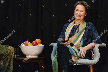 Stock Image of Alice Waters seen on day three of Summit LA19 in Downtown Los Angeles, in Los Angeles