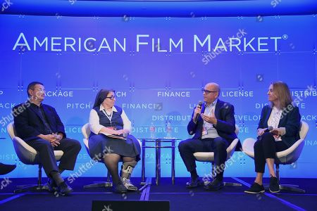 Editorial image of The Passion of the Film: Reaching the Faith and Family Community through Film Festivals, American Film Market 2019, Loews Hotel, Santa Monica, Los Angeles, USA - 10 Nov 2019