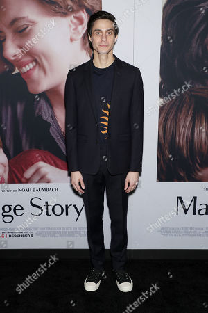 """Editorial image of New York Premiere of """"Marriage Story"""" hosted by Netflix at The Paris Theater, New York, USA - 10 Nov 2019"""