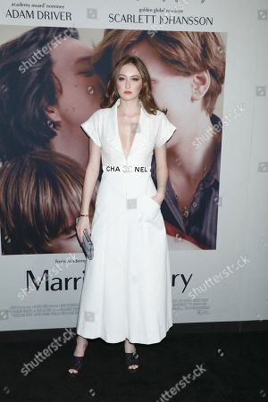 Editorial photo of 'Marriage Story' film premiere, Arrivals, New York, USA - 10 Nov 2019
