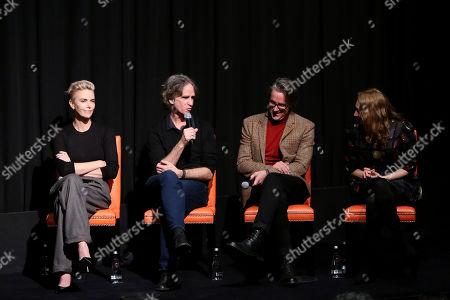 Charlize Theron, Jay Roach, Charles Randolph and Regina Spektor