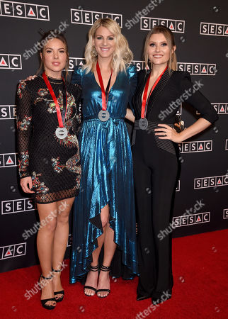 Naomi Cooke, Jennifer Wayne and Hannah Mulholland of Runaway June