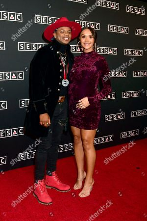 Jimmie Allen and Alexis Gale