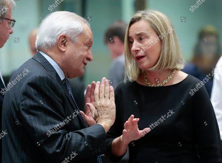 Editorial photo of European Foreign Affairs Council, Brussels, Belgium - 11 Nov 2019