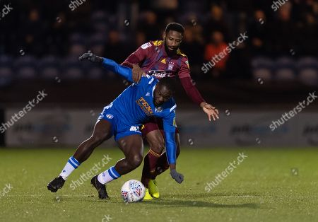 Editorial picture of Colchester United v Ipswich Town, Leasing.com Trophy, Football, JobServe Community Stadium, UK - 12 Nov 2019