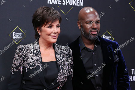 Kris Jenner and Corey Gamble