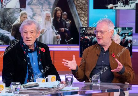 Sir Ian McKellen and Sean Mathias