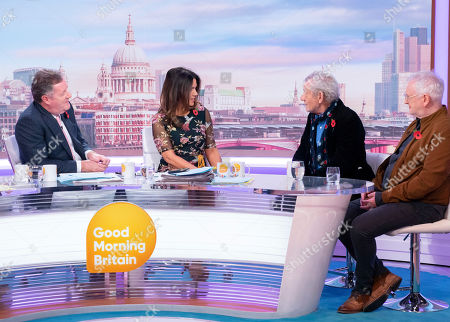 Piers Morgan, Susanna Reid, Sir Ian McKellen and Sean Mathias