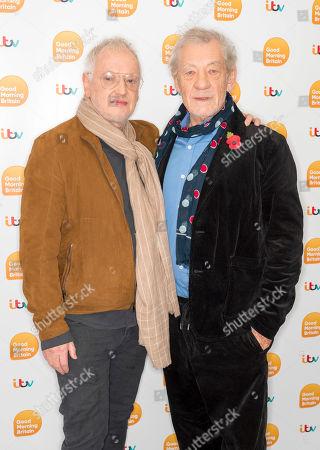 Editorial image of 'Good Morning Britain' TV show, London, UK - 11 Nov 2019