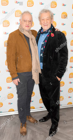 Stock Photo of Sir Ian McKellen and Sean Mathias