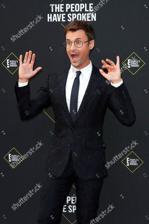 Brad Goreski arrives for the 2019 People's Choice Awards at the Barker Hangar in Santa Monica, California, USA, 10 November 2019.