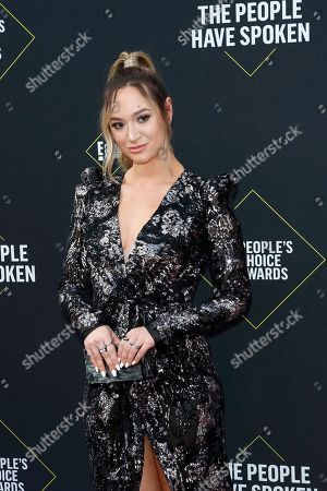 Editorial picture of 2019 People's Choice Awards, Santa Monica, USA - 10 Nov 2019