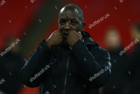 Stock Picture of England coach Chris Powell