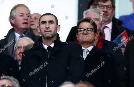 Ex England Manager Fabio Capello is seen in the stands.