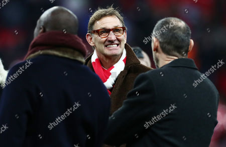 Stock Image of Tony Adams is seen pitch side.