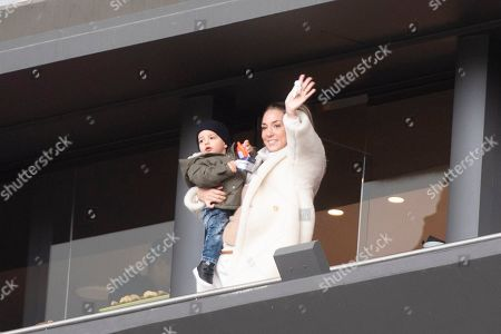 Alice Campello, wife of Atletico de Madrid's Spanish forward Alvaro Morata