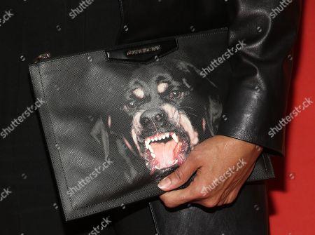 Gina Torres, bag detail