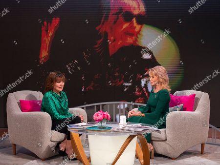 Lorraine Kelly and Sue Vanner