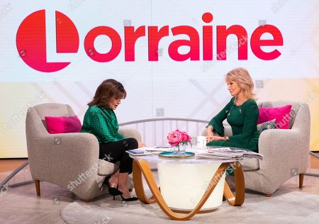 Stock Image of Lorraine Kelly and Sue Vanner