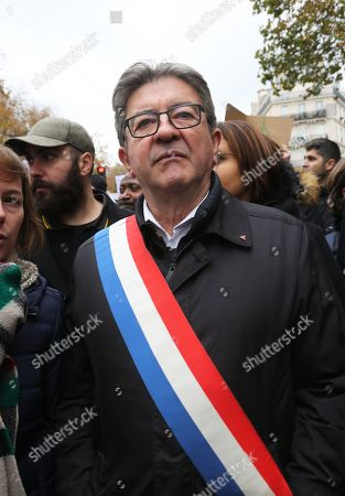 Stock Image of Jean-Luc Melenchon