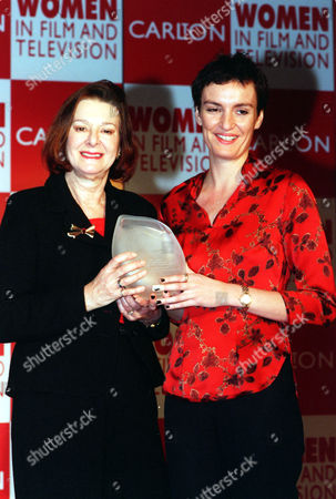 Actress Daniela Nardini Pictured With Producer Verity Lambert At The Woman In Film And Television Awards.
