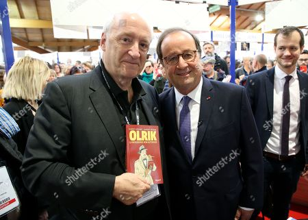 Francois Hollande and Hubert Vedrine, Paul Roch
