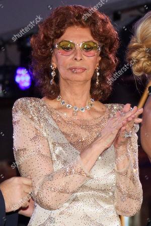 Stock Image of Sophia Loren