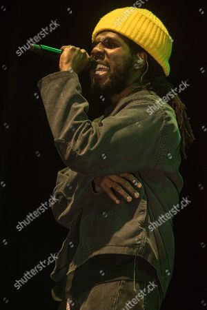 Editorial photo of Chronixx and Koffee in concert, Birmingham Arena, UK - 10 Nov 2019