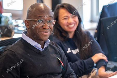 Liberal Democrat Shadow Business, Energy and Industrial Strategy Secretary Sam Gyimah during a visit to 'WhiteHat', a tech start-up founded to help people access apprenticeships. Sam Gyimah is joined by London Mayoral candidate, Siobhan Benita, to discuss the party's plans for the creation of an ambitious Skills Wallet which gives every adult £10,000 to spend on education and training throughout their lives.