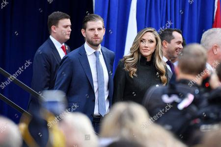 Eric Trump and Lara Yunaska Trump