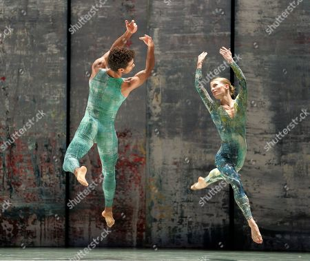 Editorial image of 'Rambert Event by Merce Cunningham' Dance performed by Rambert Dance at Sadler's Wells Theatre, London, UK - 11 Nov 2019