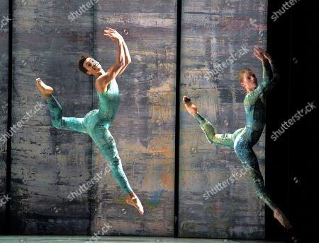 Editorial photo of 'Rambert Event by Merce Cunningham' Dance performed by Rambert Dance at Sadler's Wells Theatre, London, UK - 11 Nov 2019