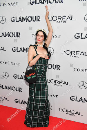 Editorial image of Glamour Women of the Year Awards, Arrivals, New York, USA - 11 Nov 2019