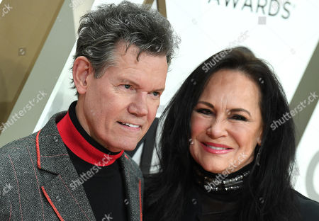 Stock Picture of Randy Travis and Mary Davis