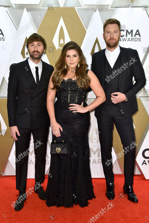 Lady Antebellum - Dave Haywood, Hillary Scott and Charles Kelley
