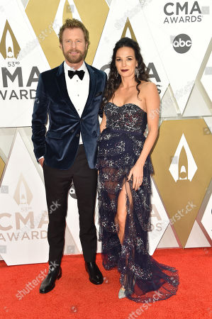 Stock Picture of Dierks Bentley and Cassidy Black