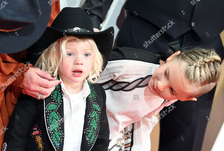 Stock Image of Jameson Moon Hart and Willow Sage Hart