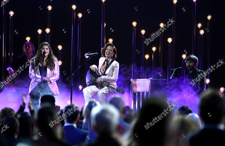 Stock Picture of Lady Antebellum and Halsey