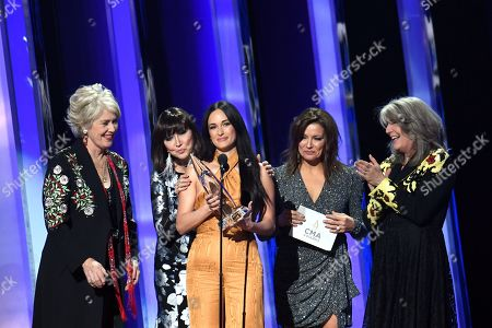 Kacey Musgraves - Female Vocalist of the Year - presented by Janie Fricke, Pam Tillis, Kathy Mattea and Martina McBride