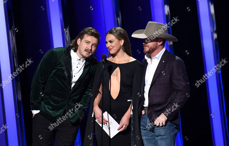 Morgan Wallen, Hannah Brown and Cody Johnson