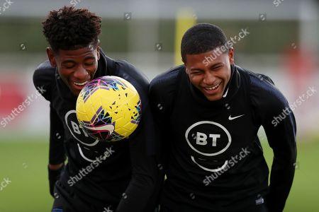 Editorial picture of England U21's Training, Football, St George's Park, Burton-Upon-Trent, UK - 11 Nov 2019