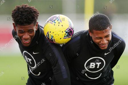 Editorial image of England U21's Training, Football, St George's Park, Burton-Upon-Trent, UK - 11 Nov 2019