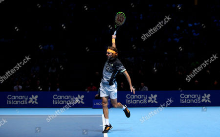 Editorial photo of Nitto ATP Finals, Tennis, London, UK - 16 Nov 2019