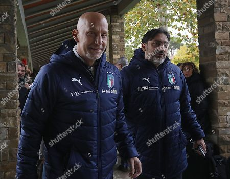 Editorial photo of Soccer: Italy's training session, Florence - 11 Nov 2019