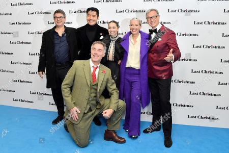 David Livingstone, Henry Golding, Emilia Clarke, Emma Thompson, Paul Feig and Greg Wise