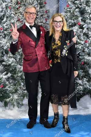 Stock Picture of Paul Feig and Laurie Feig