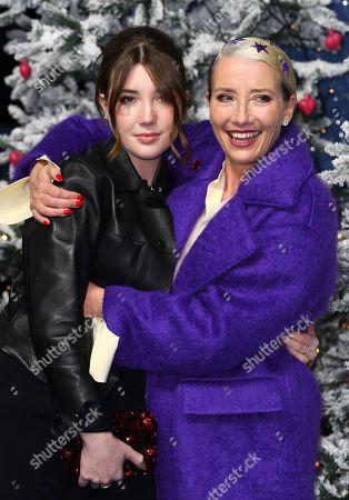 Gaia Wise and Emma Thompson